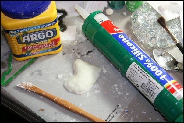 Making a 100% Silicone Caulk Mold « Martha net