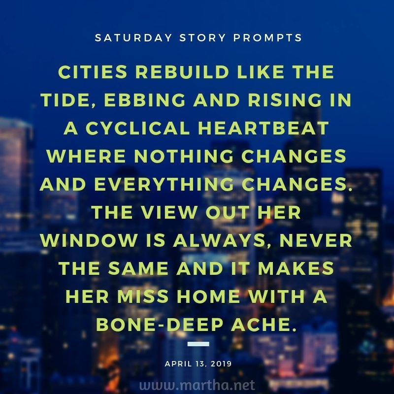 Saturday Story Prompts [2019.04.13]